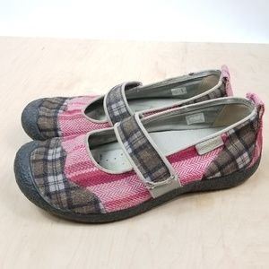 Keen Harvest Maryjane Plaid Shoe